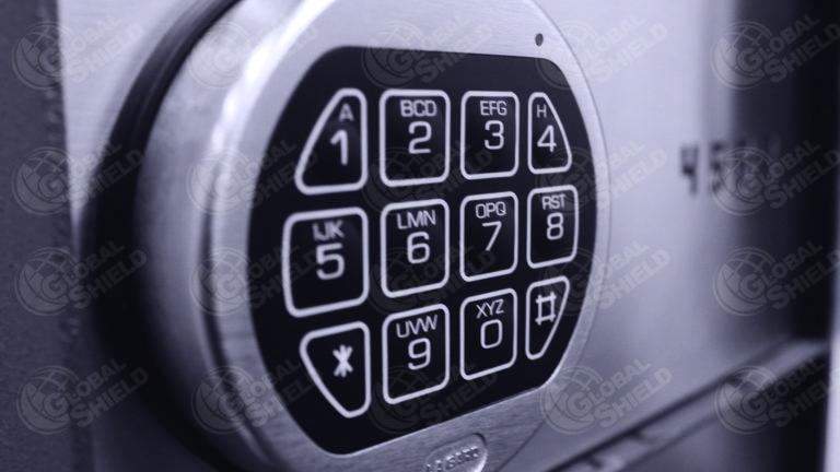 Cerradura de caja de seguridad
